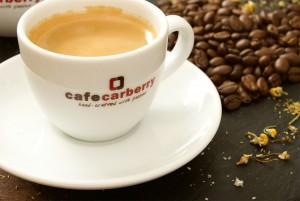 Catering coffee photo for Carberry Catering Belfast.