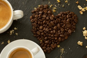 Coffees and coffee beans at Cafe Carberry Catering Belfast.